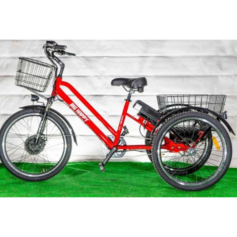 Электровелосипед Vega Big Happy два аккумулятора