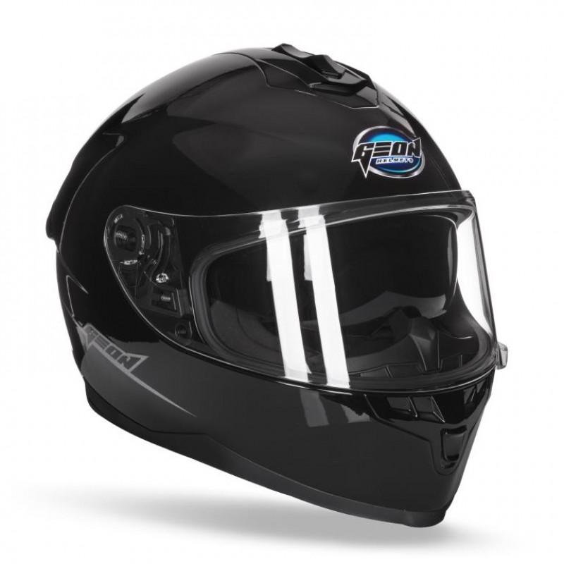Шлем интеграл с очками GEON 967-2 Black