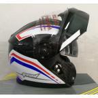 Шлем модуляр с очками GEON 950 Adventure Blue Black