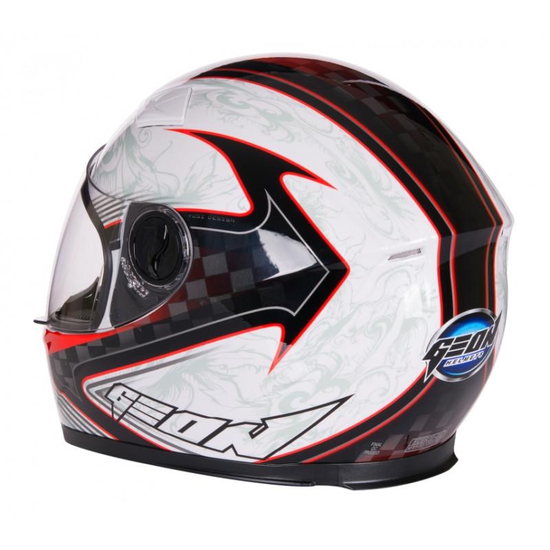 Шлем Geon 956S интеграл детский kid red white