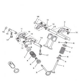 Клапан выпускной Speed Gear 700сс