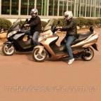 Макси скутер Skymoto bravo 150 сс