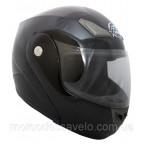 Шлем GEON 936 Модуляр Black лак