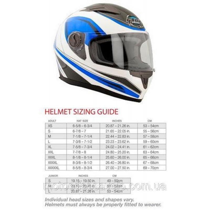 Шлем Geon 968 Интеграл NeedForSpeed White Blue