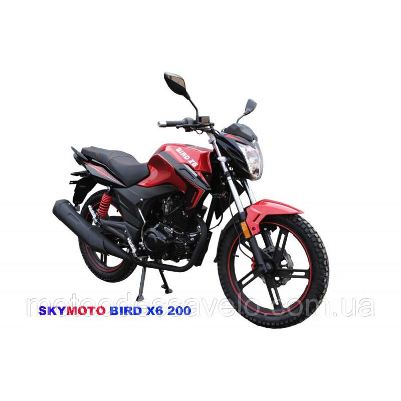 Мотоцикл Skymoto Bird X-6 200 (скаймото)