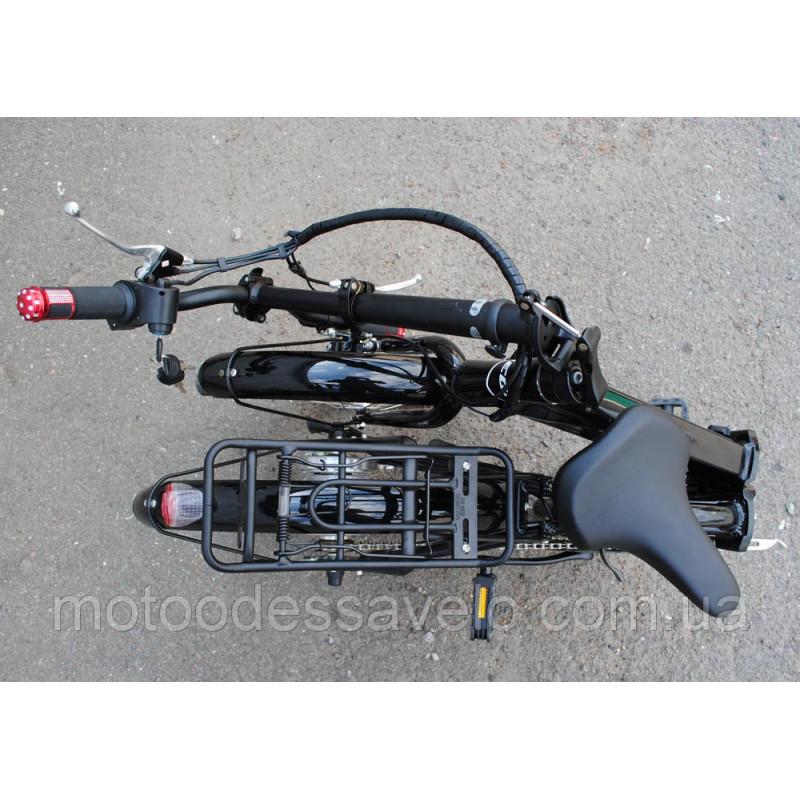 Электровелосипед Vega Mobile black складной