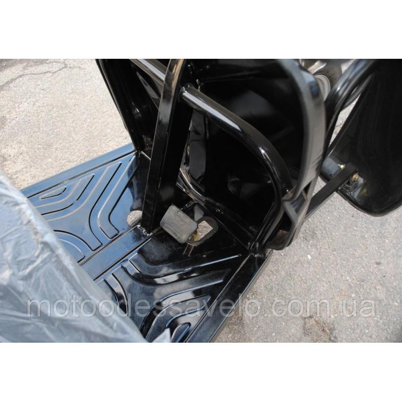 Грузовой электротрицикл Hercules Electro с кабина+будка