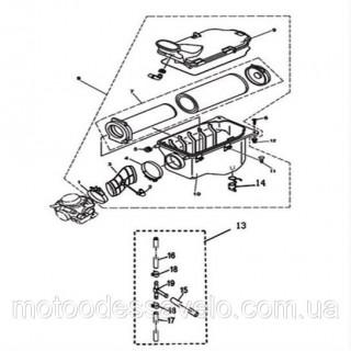 Воздушный фильтр на квадроцикл Speed gear force 400
