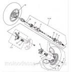 Диск передний на квадроцикл Speed gear force 500