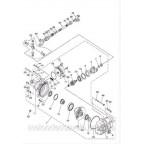 Сервопривод редуктор блокировки дифференциала 2wd 4wd на квадроцикл Speed gear force 400