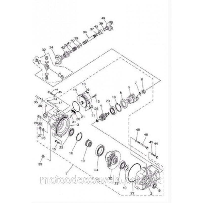 Подшипник 16007 Φ35×Φ62×9 на квадроцикл Speed gear force 500