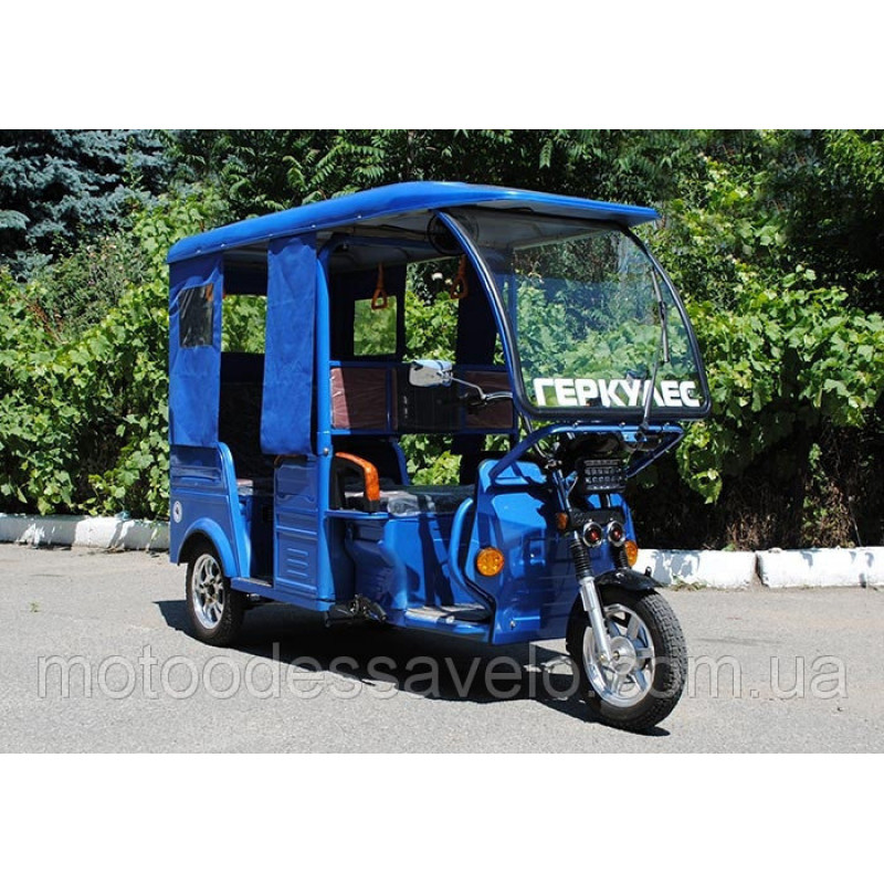 Пассажирский трицикл Геркулес моторикша e-Riksha Тук-тук 5мест