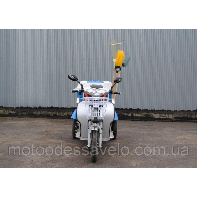 Грузовой электротрицикл Hercules Electro e-Cleaner