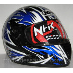 Шлем NHK 308 Y8 AXIS Black blue
