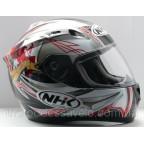 Шлем NHK N1200 Y9 Zion black red