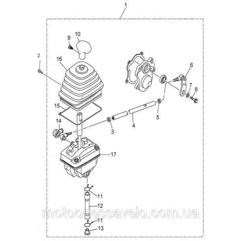 Селектор выбора передачи старый вариант Speed Gear 500