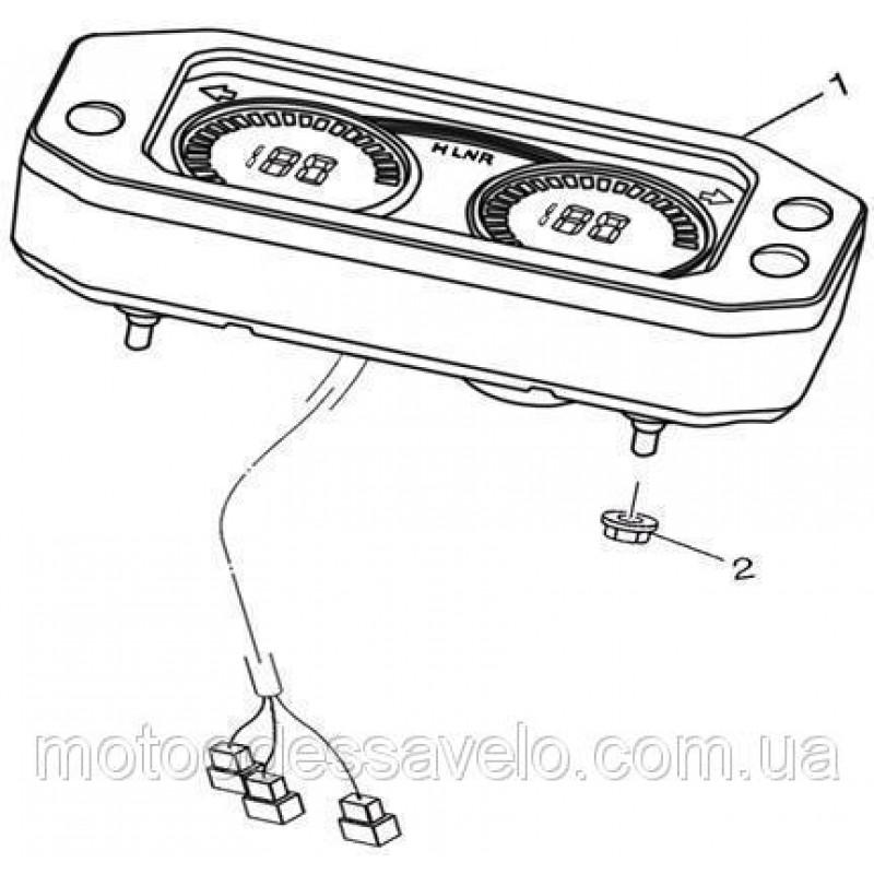 Панель приборов EFI Speed Gear 500
