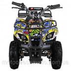 Электроквадроцикл Profy ATV 800W графити