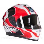 Шлем Geon 967 Интеграл с очками Boxter Black White