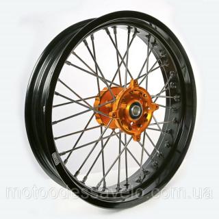 Диск алюминиевый спицованный GN-motors Suzuki 3.5-17