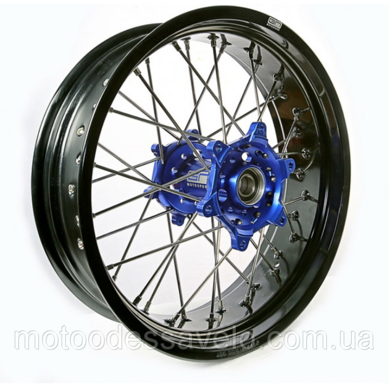 Диск алюминиевый спицованный GN-motors Yamaha 4.25-17