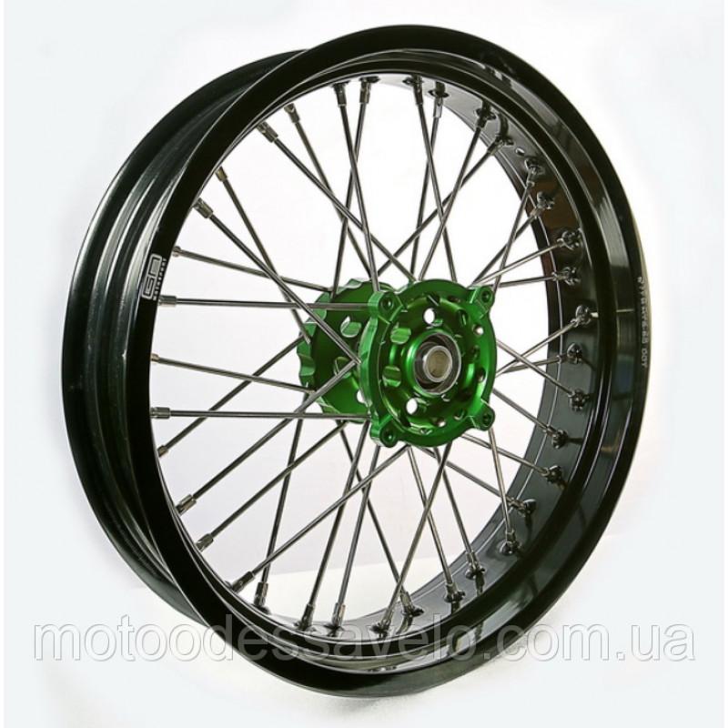 Диск алюминиевый спицованный GN-motors Kawasaki 3.5-17