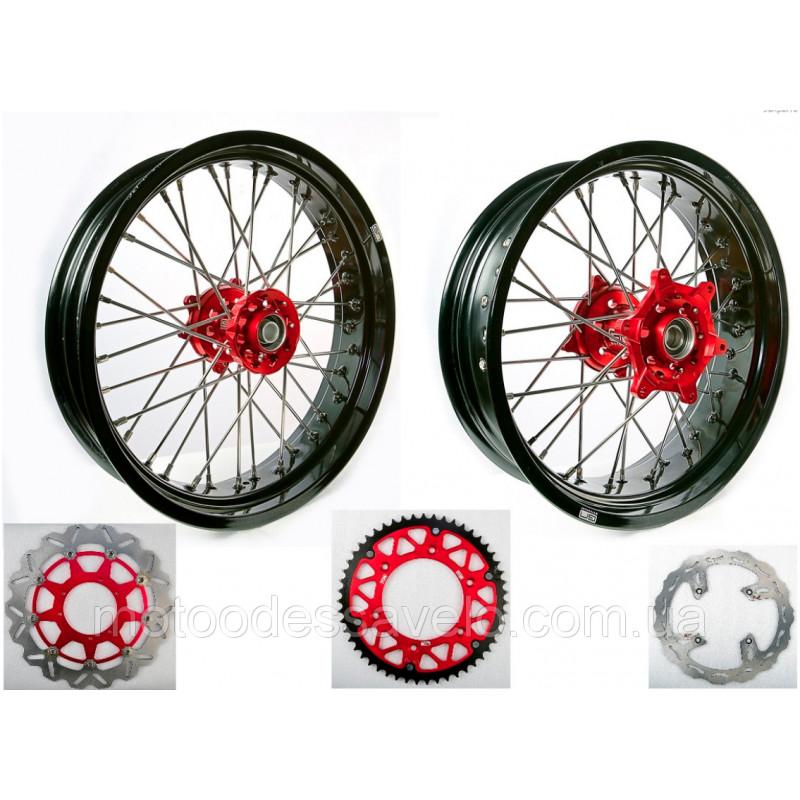 Комплект колесных дисков для Мотард GN-motors диск тормозной 320 мм
