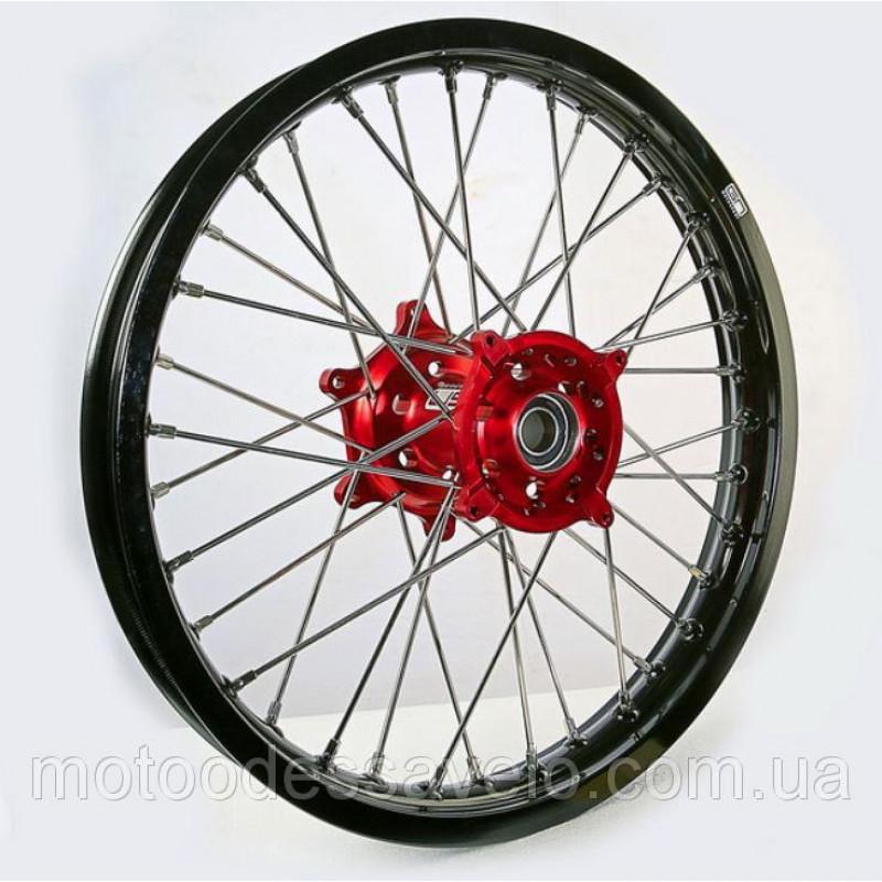 Диск алюминиевый спицованный GN-motors Honda 2.15-18 + тормозной диск 240 мм
