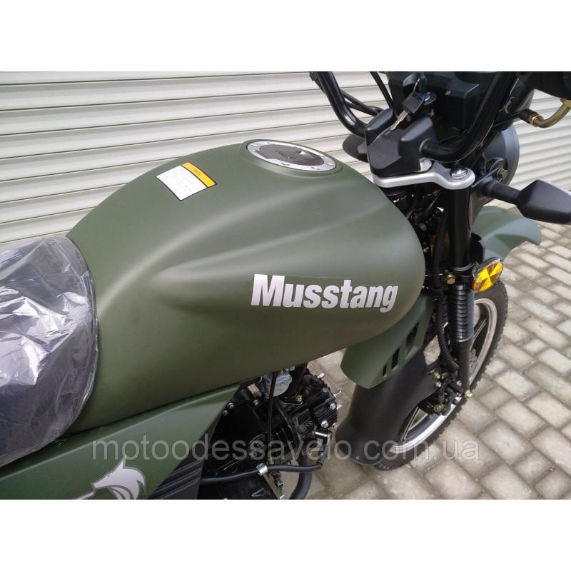 Мопед Musstang MT125D 2020 зеленый