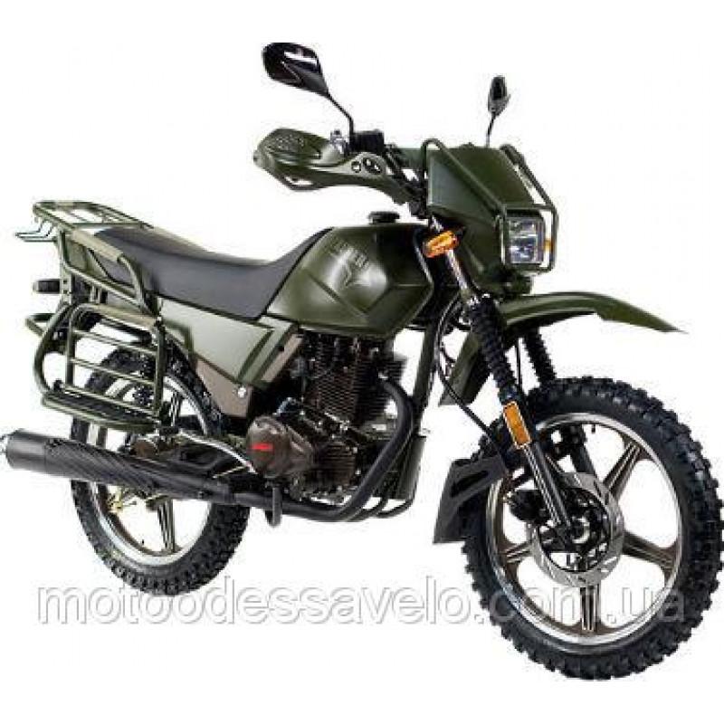 Мотоцикл Shineray intruder XY 200 зелёный