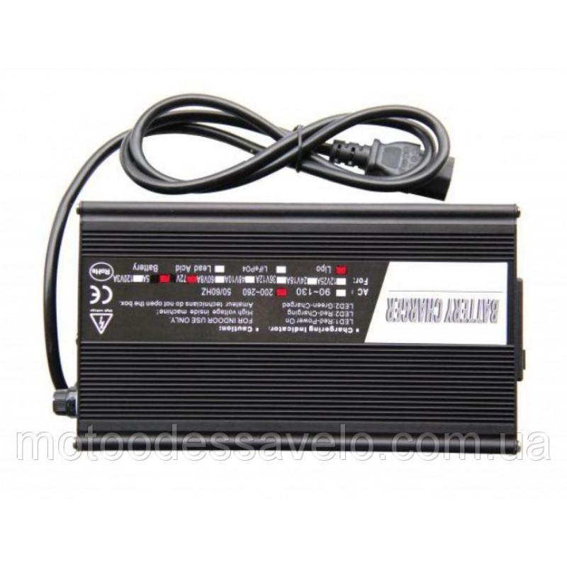 Зарядное устройство для литий ионных аккумуляторов на 72v (5А)