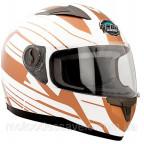 Шлем GEON 968 Интеграл Impulse белый-бронза