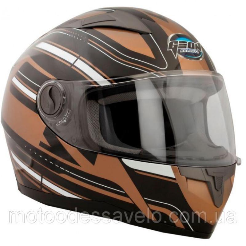 Шлем GEON 968 Интеграл Impulse Black Bronze