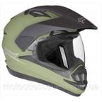 Шлем Geon 714 Дуал-спорт Trek Green Matt