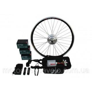 """Электронабор для велосипеда 350W36V 20-28"""" полный набор с АКБ"""