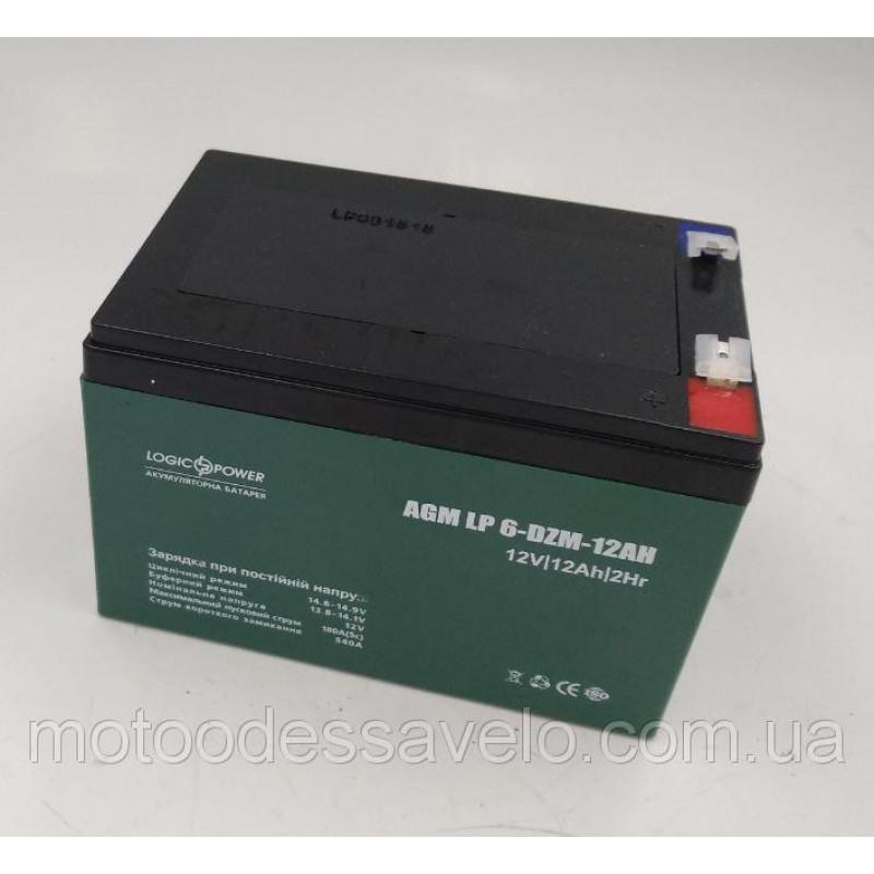Аккумулятор для электротранспорта 12V12Ah