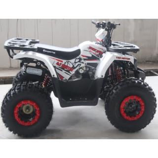 КвадроциклForte Hunter 125 белый-красный