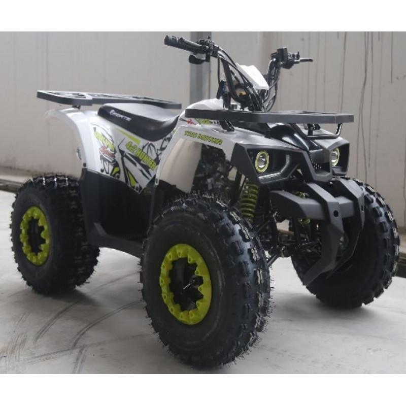 КвадроциклForte Hunter 125 белый-зеленый