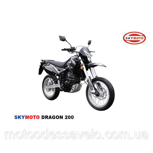 Тест-драйв мотоцикла dragon 200